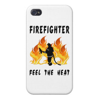 Firefighter Feel The Heat iPhone 4/4S Cases