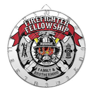 Firefighter Fellowship Campaign Products Dartboard
