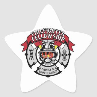 Firefighter Fellowship Campaign Products Star Sticker