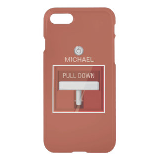 Firefighter Fire Alarm Station iPhone 7 Case
