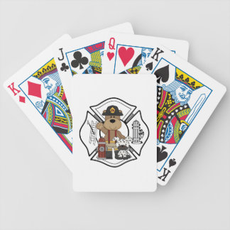 Firefighter Fire Department Bicycle Playing Cards