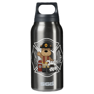 Firefighter Fire Department Insulated Water Bottle