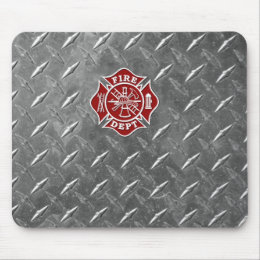 Firefighter / Fire Dept Maltese Cross Mousepad
