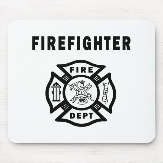 Firefighter Fire Dept Mouse Pad