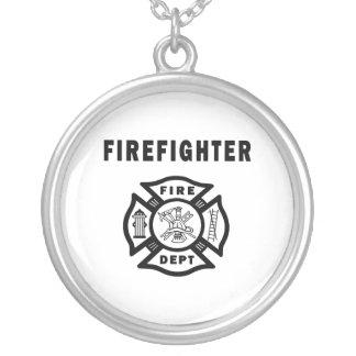 Firefighter Fire Dept Pendant