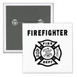 Firefighter Fire Dept Pin