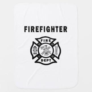 Firefighter Fire Dept Receiving Blanket