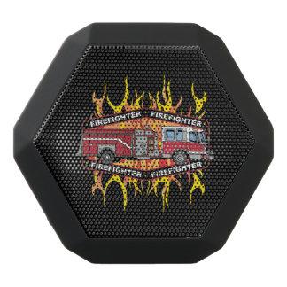 Firefighter Fire Truck Black Bluetooth Speaker