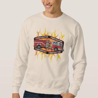 Firefighter Fire Truck Sweatshirt