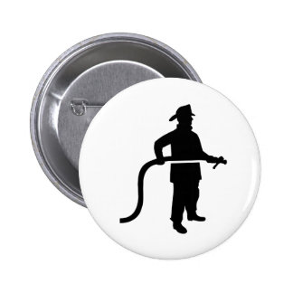 Firefighter Fireman Button