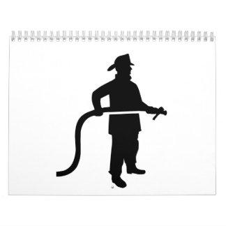 Firefighter Fireman Calendar