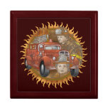 Firefighter Firetruck Buddy Gift Box