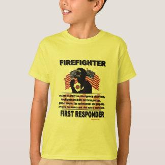 FireFighter_First_Responder T-Shirt