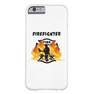Firefighter Flames Barely There iPhone 6 Case
