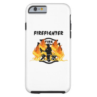 Firefighter Flames Tough iPhone 6 Case