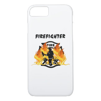 Firefighter Flames iPhone 7 Case