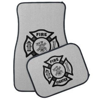 Firefighter Floor Mat