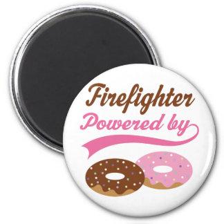 Firefighter Funny Gift Fridge Magnet