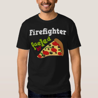 Firefighter (Funny) Pizza T-shirt