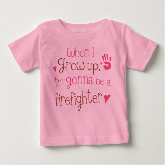 Firefighter (Future) Infant Baby T-Shirt