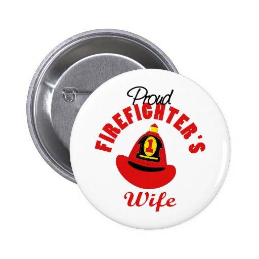 Firefighter Gift Button