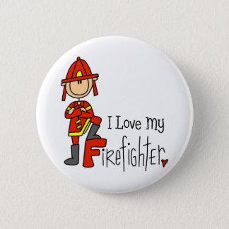 Firefighter Gift Pinback Button