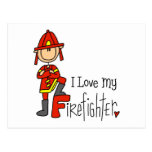 Firefighter Gift Post Cards