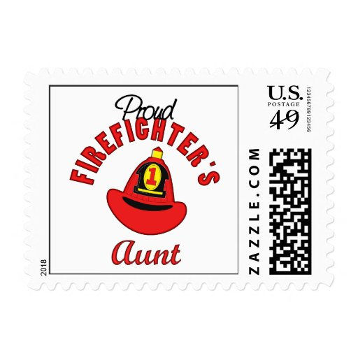 Firefighter Gift Postage Stamp