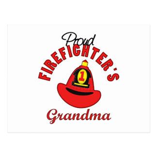 Firefighter Gift Postcard