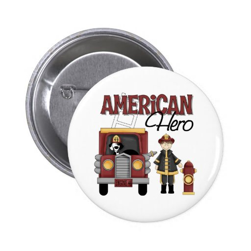Firefighter Gifts 2 Inch Round Button