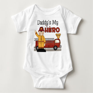 Firefighter Gifts Baby Bodysuit