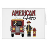 Firefighter Gifts Greeting Cards
