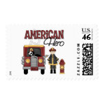 Firefighter Gifts Postage Stamps