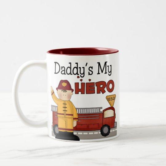 Firefighter Gifts Two-Tone Coffee Mug