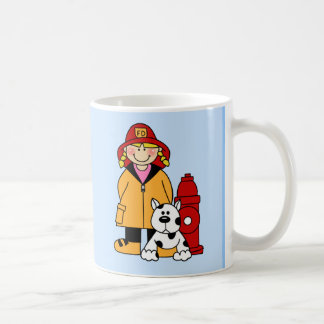 Firefighter (Girl) Coffee Mug