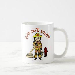 Firefighter Girl Coffee Mug