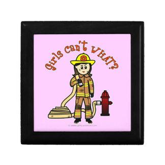 Firefighter Girl Gift Box