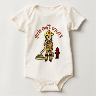 Firefighter Girl Rompers