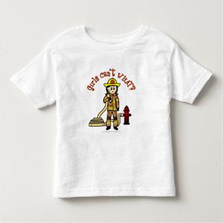Firefighter Girl Toddler T-shirt