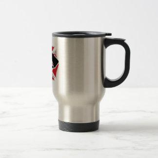 Firefighter girlfriend travel mug