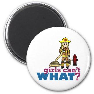 Firefighter Girls Magnets