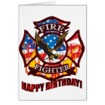 Firefighter Greeting Card