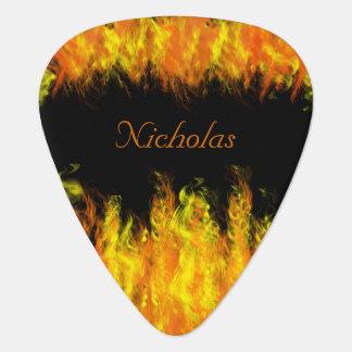 Firefighter Guitar Pick