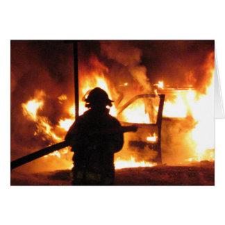 Firefighter Handline Card