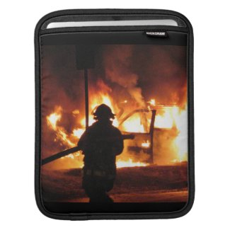 Firefighter Handline iPad Sleeves