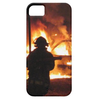 Firefighter Handline Phone Cases