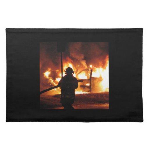 Firefighter Handline Placemats
