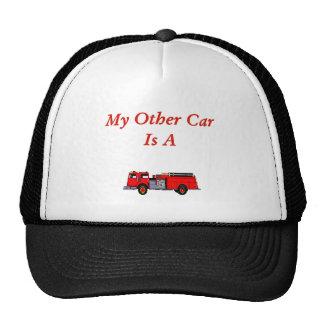 Firefighter Hat. Trucker Hat