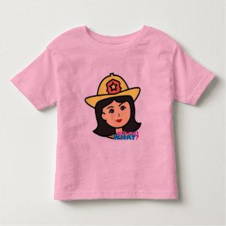 Firefighter Head Medium Toddler T-shirt