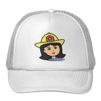 Firefighter Head Medium Trucker Hat